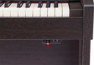 Roland HP-504 digitaalipiano Ruusupuu - USB-tikku