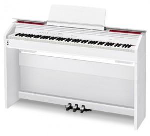 Casio Previa PX-860 digitaalipiano valkoinen kansi auki