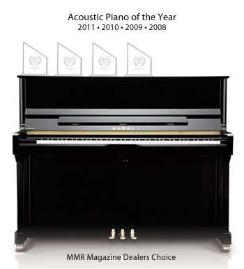 Kawai K-3 - Vuoden piano 2008, 2009, 2010 ja 2011